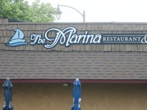 The Marina Restaurant and Bar in Charlotte.