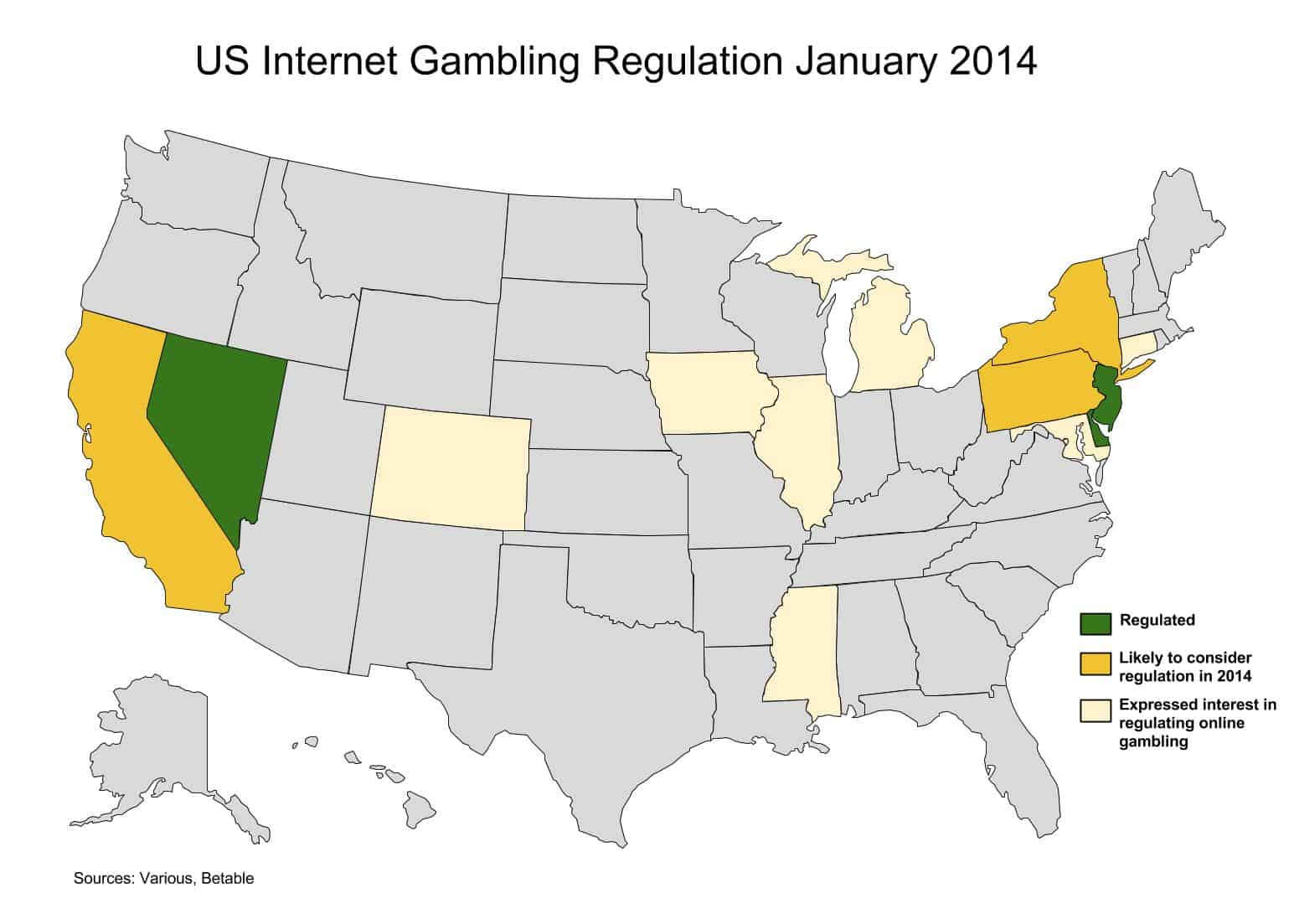 online gambling is it legal chack the states