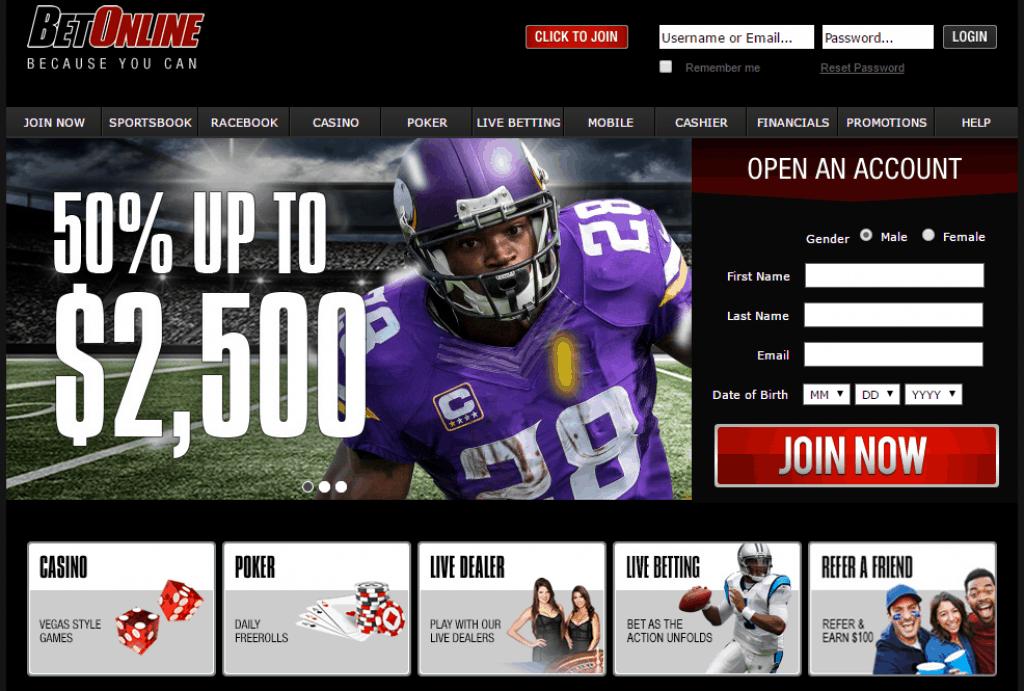 Betonline sportsbook is one of the Best Online Sportsbook for Withdrawls