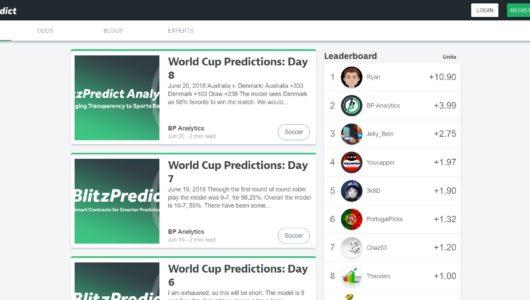 BlitzPredict - Sports Betting App