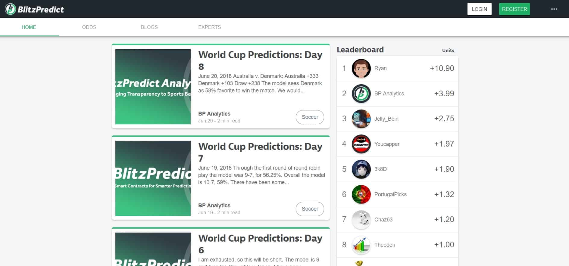 BlitzPredict - Sports Betting App