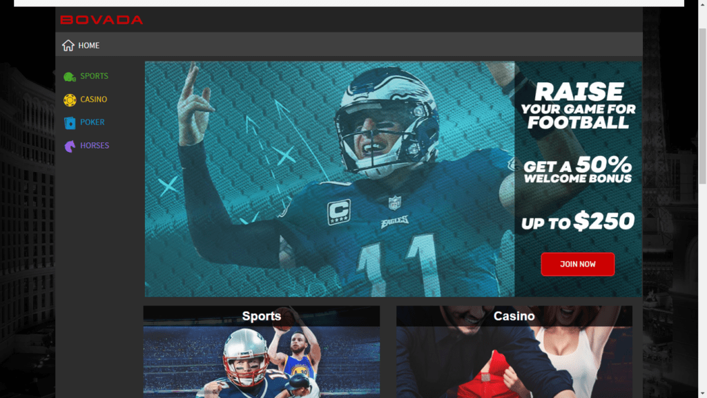 Bovada Sportsbook Review and Sign Up Bonus