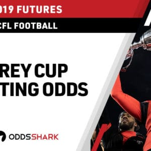 Odds to win 2019 Grey Cup