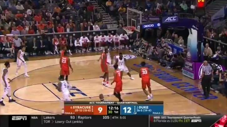 """""""Here's a clip of @RealJayWilliams from tonight about Frank Howard tripping Zion & @RealJayWilliams in 2017 about Grayson Allen tripping players.""""- @OldTakesExposed"""