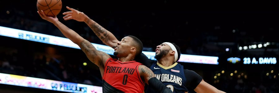 Trail Blazers vs Pelicans NBA Betting Lines & Game Preview.
