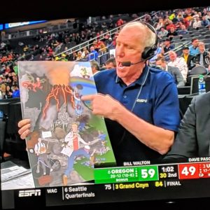 What was Bill Walton doing here?