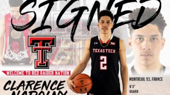 Clarence Nadolny commits to Texas Tech.