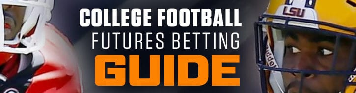 Best College Football Futures Betting Odds