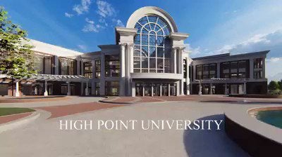 High Point University releases updated renderings of their new $120 million arena, to be opened in 2020