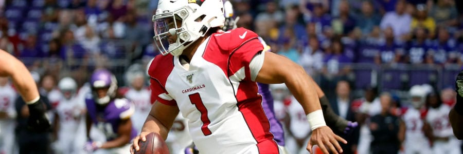 Kyler Murray is ready to debut during the 2019 NFL Week 1.