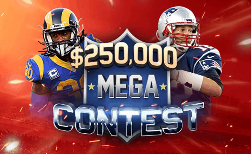 BetOnline 2019 NFL Mega Pick 'Em Football Contests