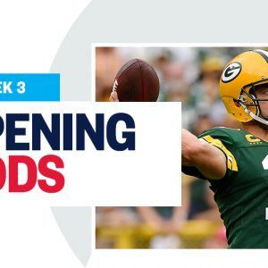 NFL Opening Lines and Odds Report: Week 3