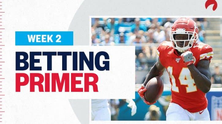 Week 2 NFL Betting Primer