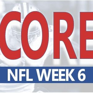 NFL Scores for Week 6 at MyBookie Sportsbook