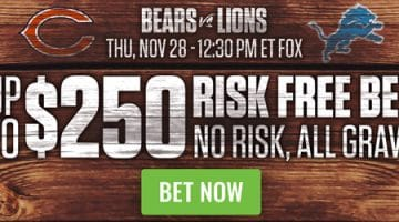 Risk Free Sports Betting Offer for Turkey Day 28th November 2019