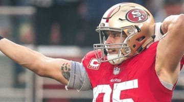 According to the latest Super Bowl LIV Odds, the 49ers are slight underdogs.