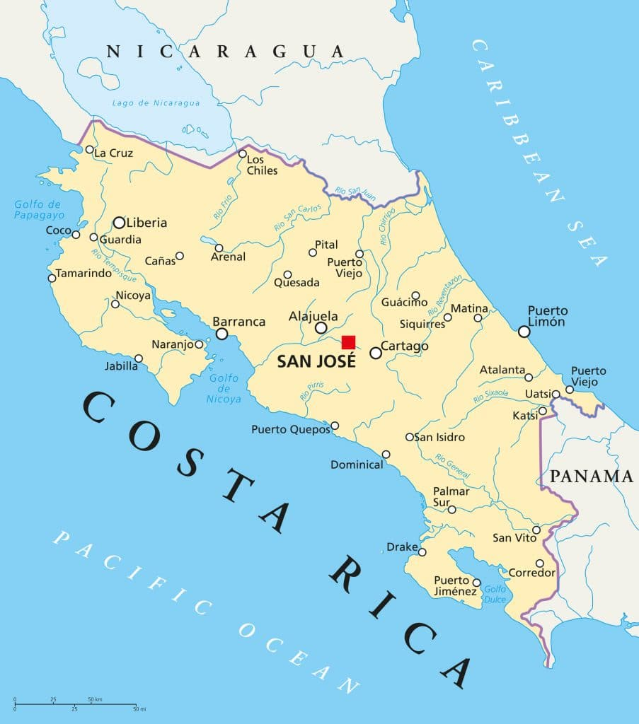 Where is Bovada located - Costa Rica