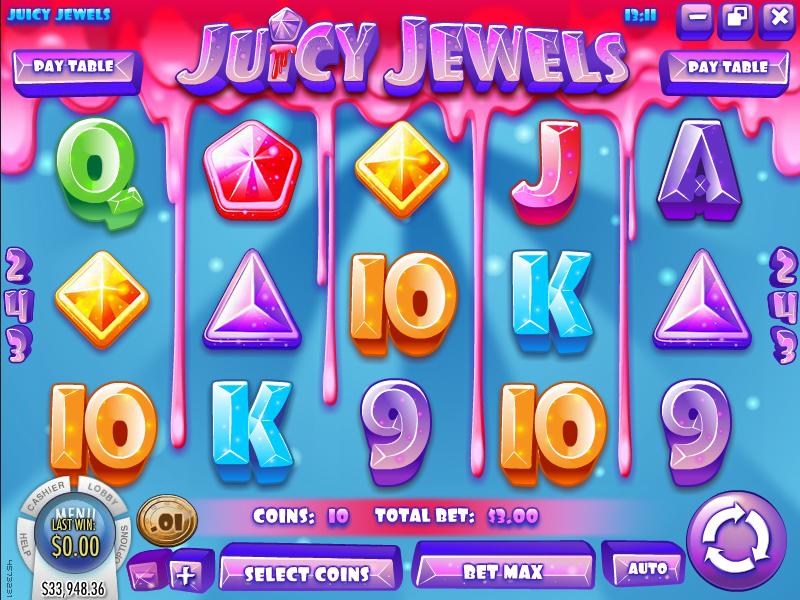 Juicy Jewels Slot at Cocoa Casino