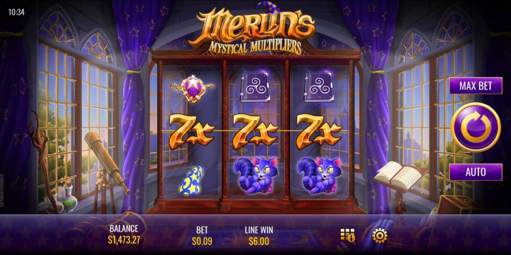 Merlins Mystical Multipliers Slot