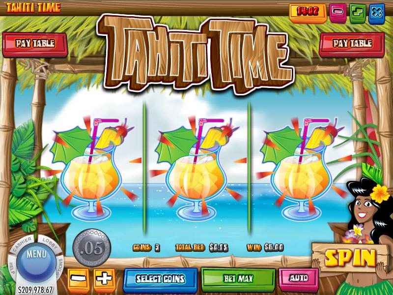Tahiti Time Slot Paradise 8 Casino free spins