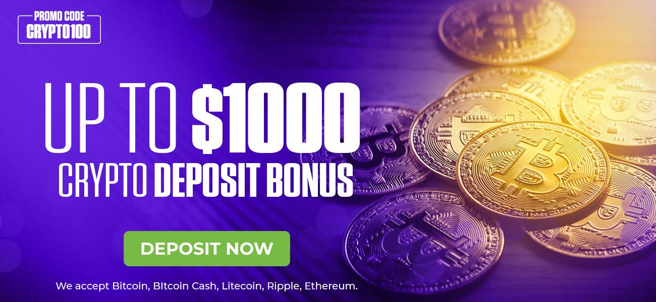 MyBookie Bitcoin sports betting bonus